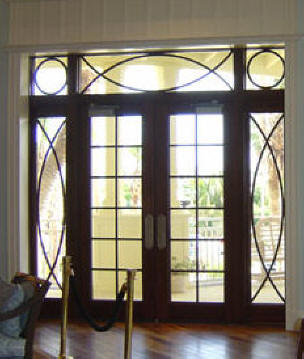 12 Lite Double Contemporary Entry Doors